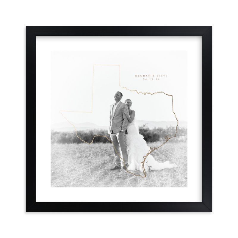 """""""All I Need"""" - Foil Pressed Photo Art Print by Owl and Toad in beautiful frame options and a variety of sizes."""