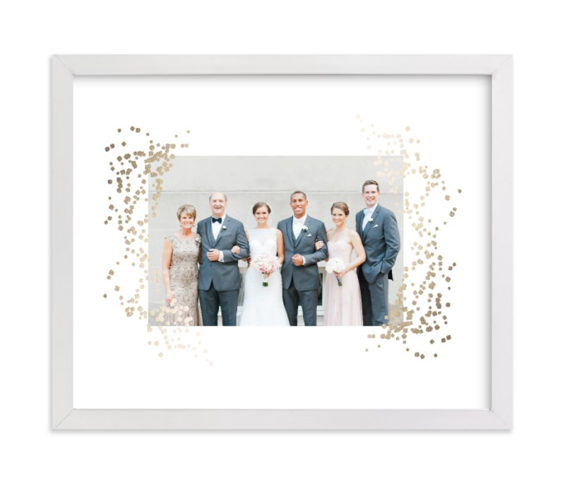 """""""Confettiscape"""" - Foil Pressed Photo Art Print by Linda Misiura in beautiful frame options and a variety of sizes."""