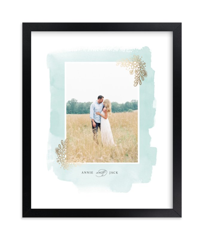 """""""Frosted"""" - Foil Pressed Photo Art Print by Four Wet Feet Studio in beautiful frame options and a variety of sizes."""