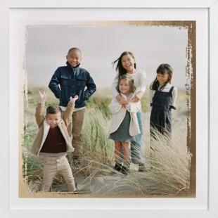 Rustic Edges Foil-Pressed Photo Art Print