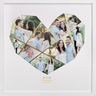 Complete Love Foil-Pressed Photo Art Print