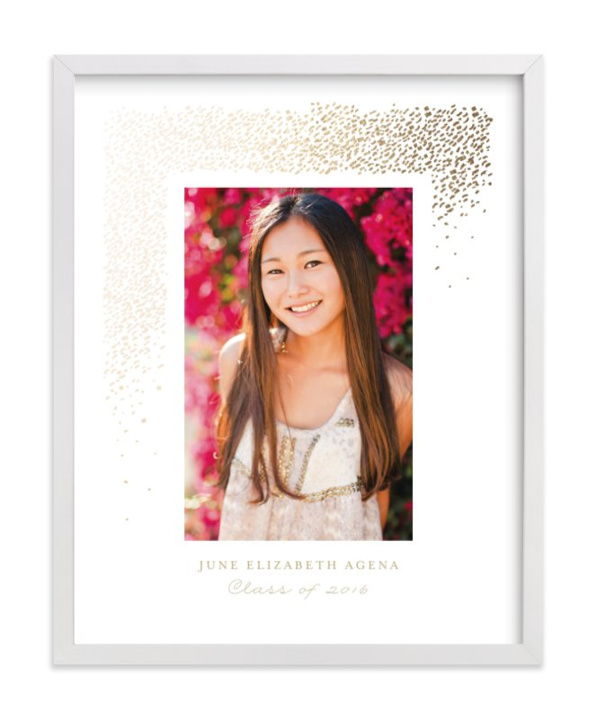 """Young Wild and Free"" - Foil Pressed Photo Art Print by Fine and Dandy Paperie in beautiful frame options and a variety of sizes."