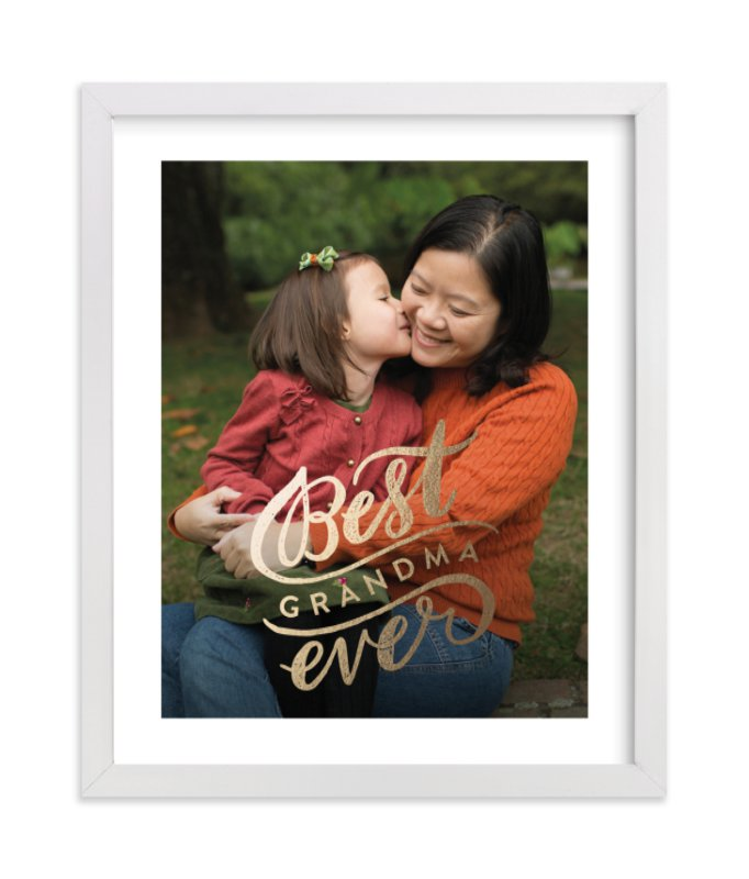 Best Ever - family photo collage wall decor