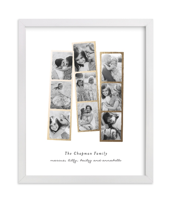"""""""Photo Booth Filter Foil"""" - Foil Pressed Photo Art Print by Olivia Kanaley Inman in beautiful frame options and a variety of sizes."""
