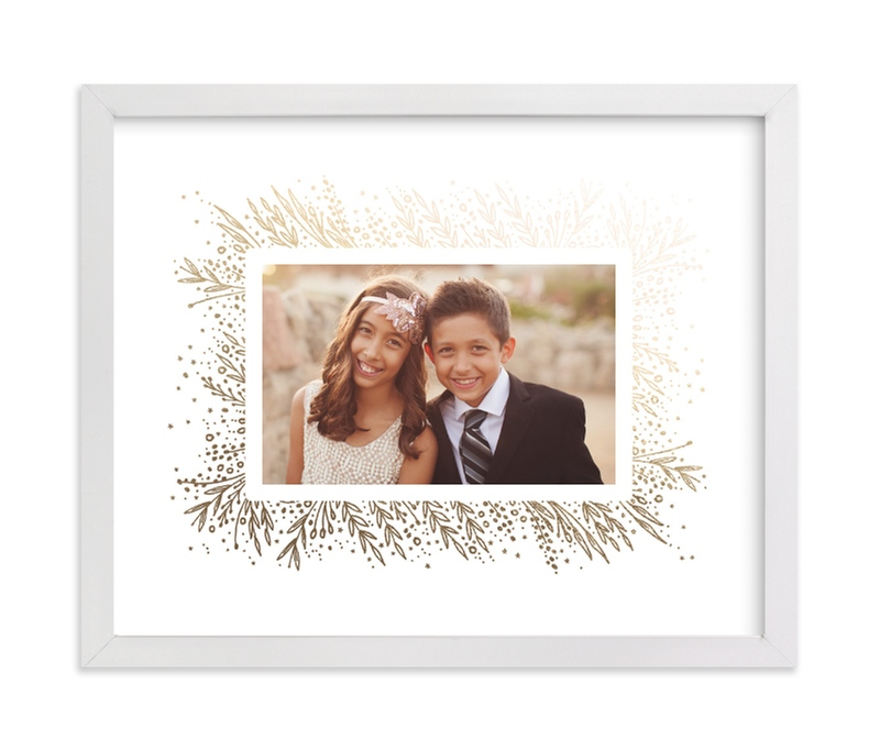 """""""Amazing Frame"""" - Foil Pressed Photo Art Print by Phrosne Ras in beautiful frame options and a variety of sizes."""