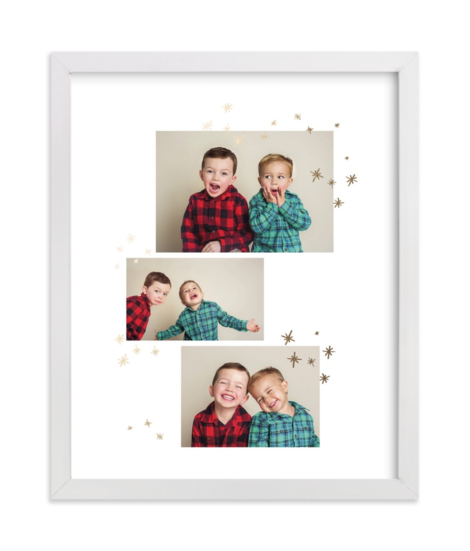 """""""Holiday Fun"""" - Foil Pressed Photo Art Print by Lisa Cersovsky in beautiful frame options and a variety of sizes."""