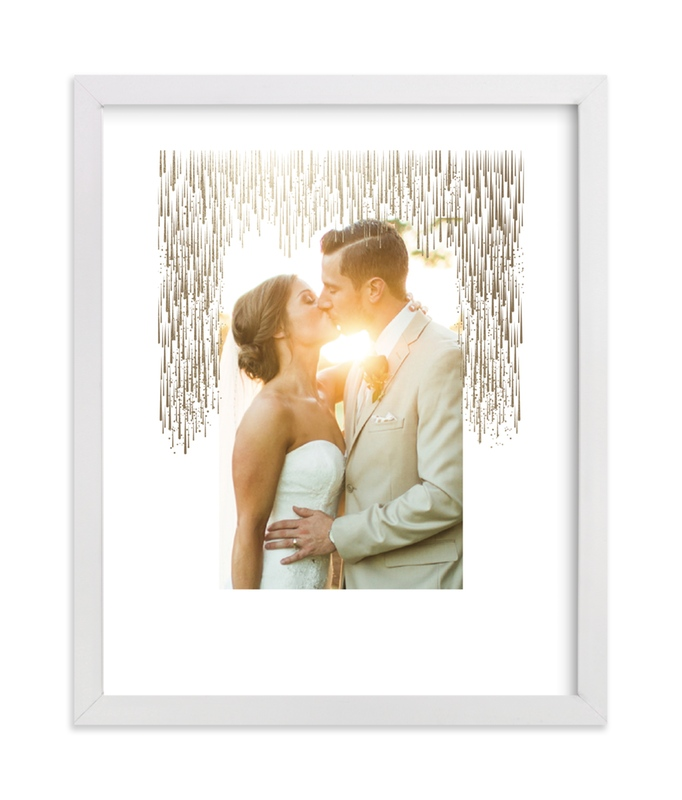 """""""Starfall"""" - Foil Pressed Photo Art Print by Kristie Kern in beautiful frame options and a variety of sizes."""