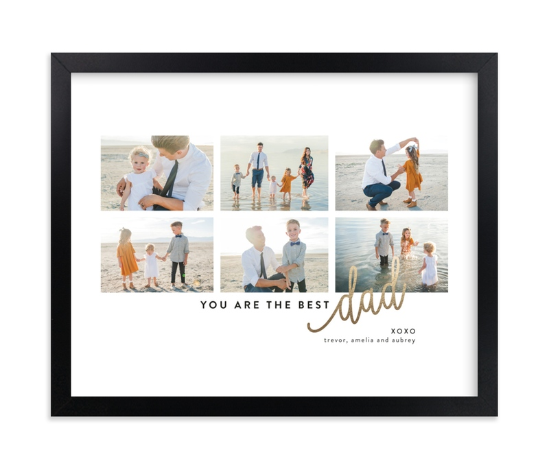 """So This Is Love Handwriting"" - Foil Pressed Photo Art Print by Erin L. Wilson in beautiful frame options and a variety of sizes."