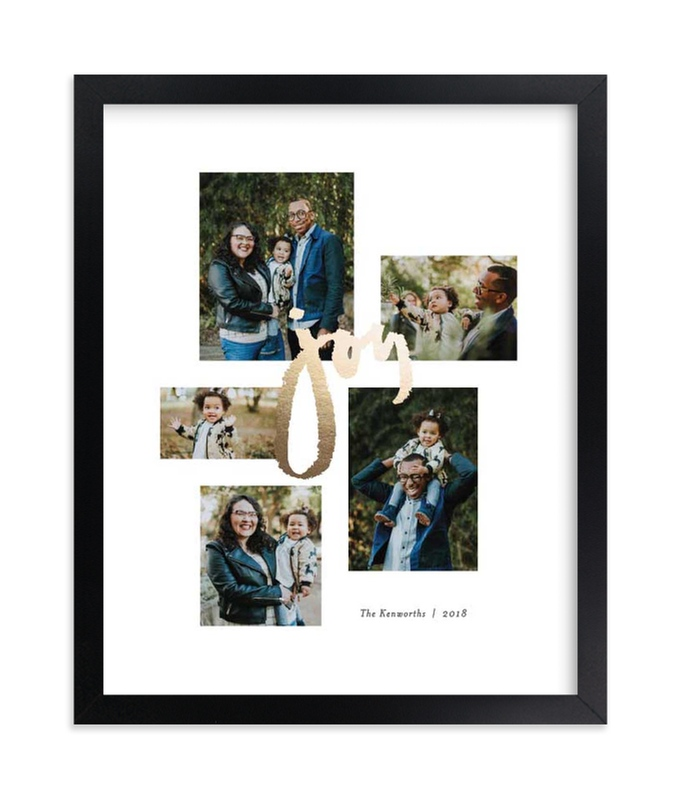 """Multitude of Joy"" - Foil Pressed Photo Art Print by Jennifer Wick in beautiful frame options and a variety of sizes."