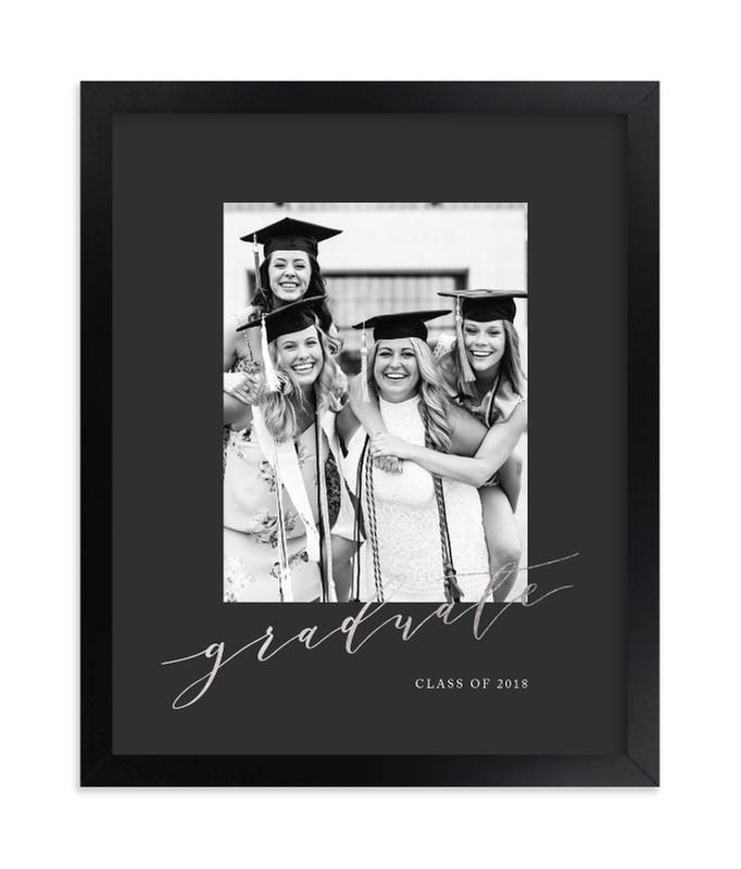 """""""Scripted"""" - Foil Pressed Photo Art Print by Jennifer Postorino in beautiful frame options and a variety of sizes."""