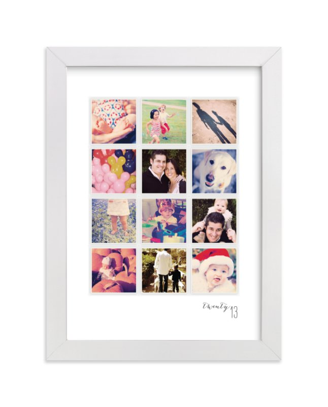 """A Year in My Life"" - Custom Photo Art Print by Robin Ott in beautiful frame options and a variety of sizes."