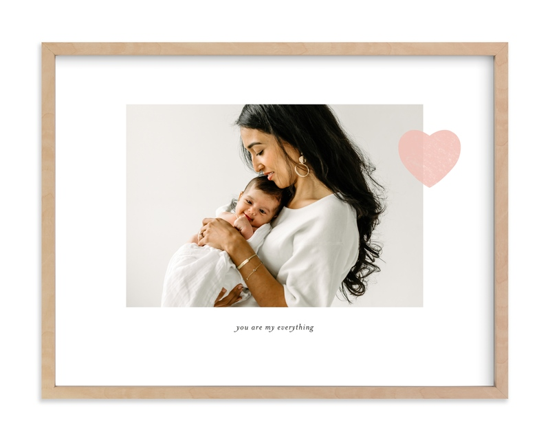 """Mom Love - Landscape"" - Custom Photo Art Print by Sara Hicks Malone in beautiful frame options and a variety of sizes."