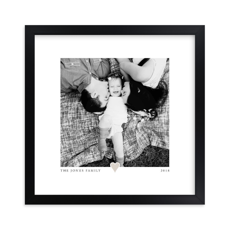 """""""With A Heart"""" - Custom Photo Art Print by Laura Hamm in beautiful frame options and a variety of sizes."""