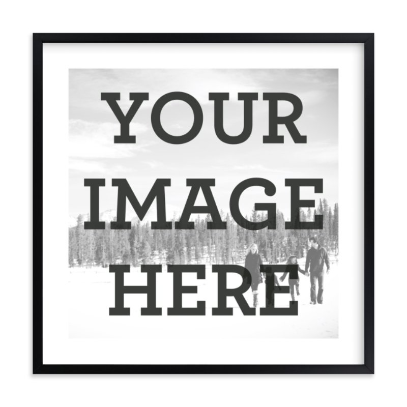 """""""The Big Picture"""" - Custom Photo Art Print by Minted in beautiful frame options and a variety of sizes."""