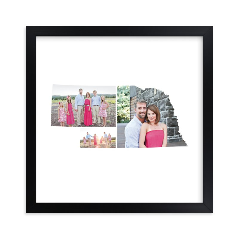 """""""Nebraska Love Location"""" - Custom Photo Art Print by Heather Buchma in beautiful frame options and a variety of sizes."""