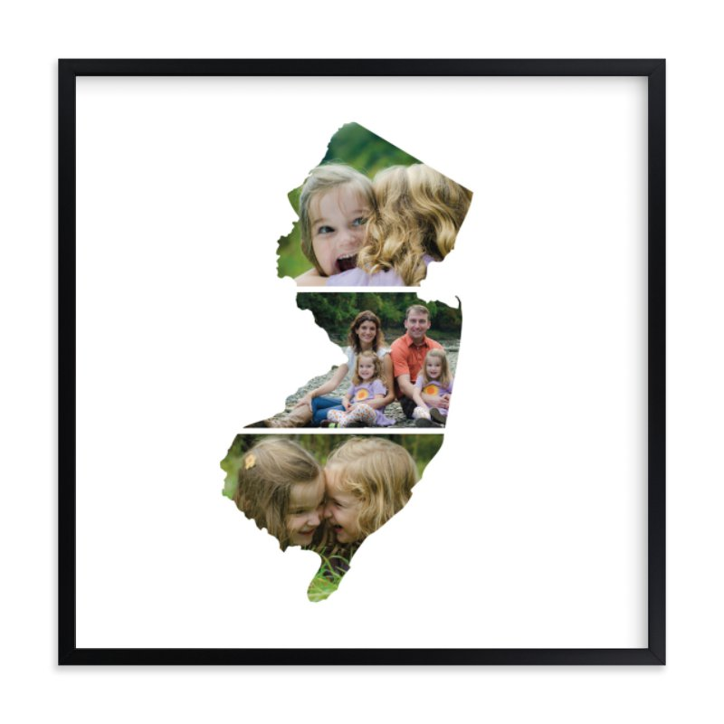 """""""New Jersey Love Location"""" - Custom Photo Art Print by Heather Buchma in beautiful frame options and a variety of sizes."""