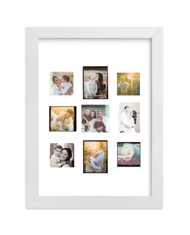 """""""'Gram Fam"""" - Custom Photo Art Print by Olivia Kanaley in beautiful frame options and a variety of sizes."""