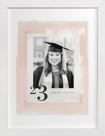 Numeral Custom Photo Art Print