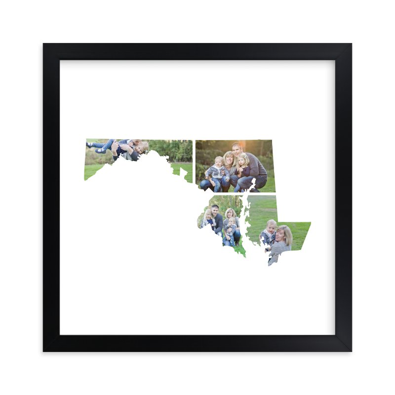 """Maryland Love Location"" - Custom Photo Art Print by Heather Buchma in beautiful frame options and a variety of sizes."