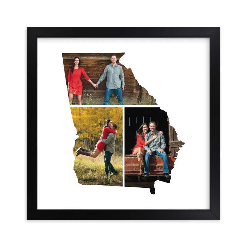 """Georgia Love Location"" - Custom Photo Art Print by Heather Buchma in beautiful frame options and a variety of sizes."
