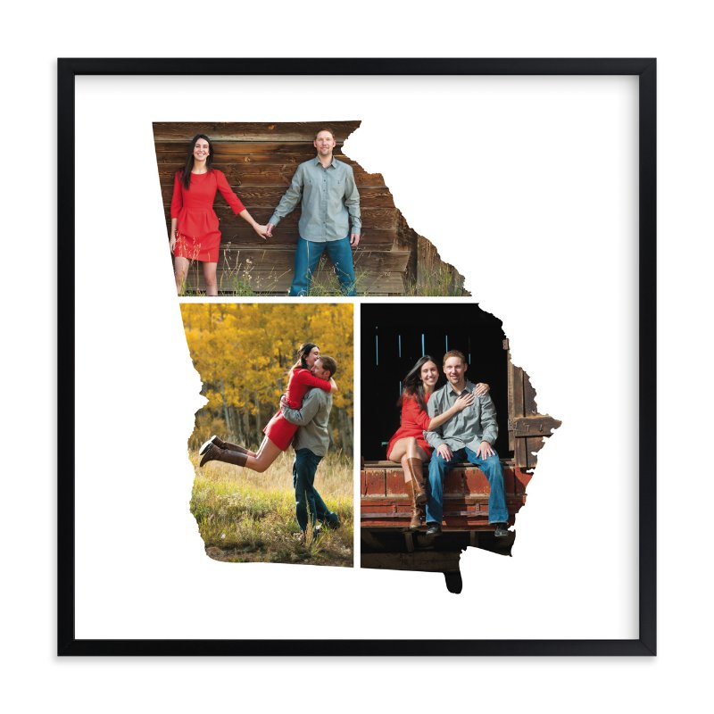 """""""Georgia Love Location"""" - Custom Photo Art Print by Heather Buchma in beautiful frame options and a variety of sizes."""