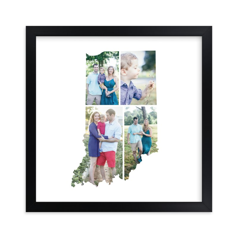 """""""Indiana Love Location"""" - Custom Photo Art Print by Heather Buchma in beautiful frame options and a variety of sizes."""