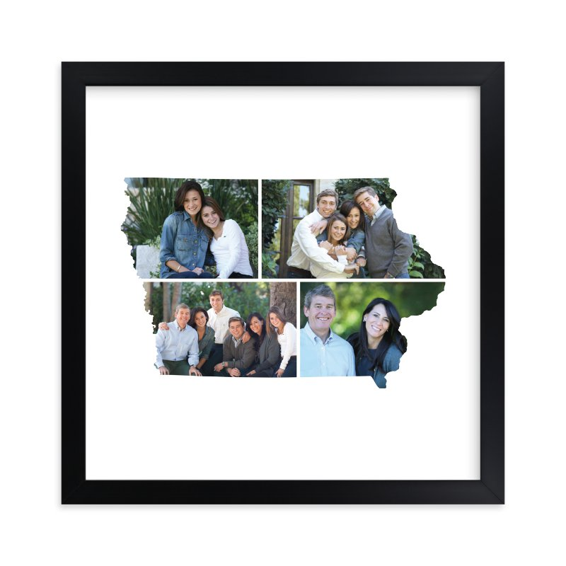 """""""Iowa Love Location"""" - Custom Photo Art Print by Heather Buchma in beautiful frame options and a variety of sizes."""