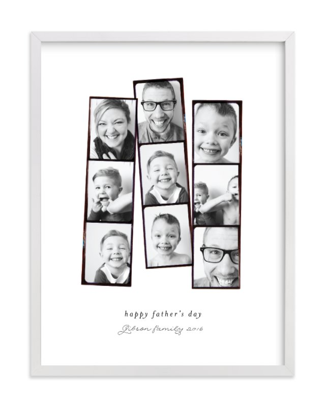Photo Booth Filter Custom Photo Art Print