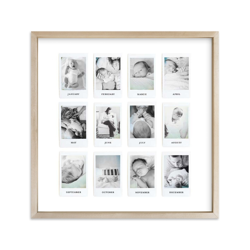 Instant Year Gallery Custom Photo Art Print