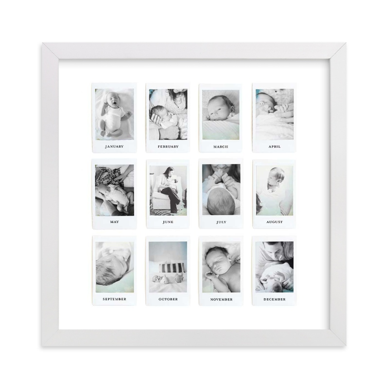 """""""Instant Year Gallery"""" - Custom Photo Art Print by Olivia Kanaley in beautiful frame options and a variety of sizes."""