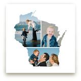 Wisconsin Love Location Art Prints