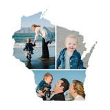 Wisconsin Love Location Custom Photo Art Print By Heather Buchma