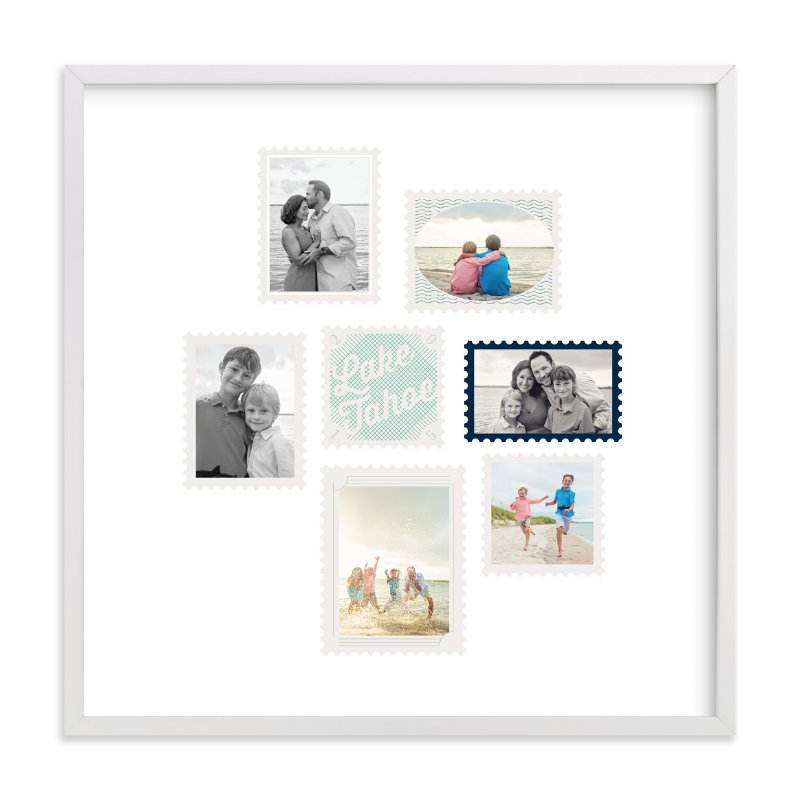 """Stamp Collection"" - Custom Photo Art Print by Baumbirdy in beautiful frame options and a variety of sizes."