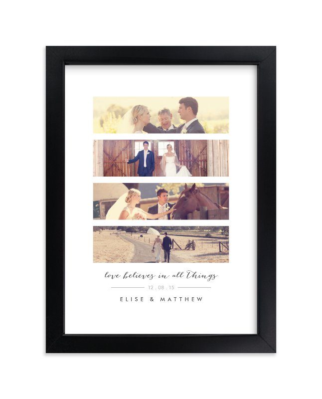 """""""Timeless Anniversary Strip"""" - Custom Photo Art Print by Oma N. Ramkhelawan in beautiful frame options and a variety of sizes."""