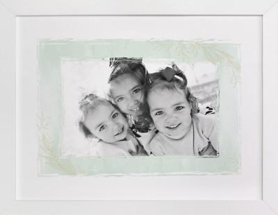 Botanical Frame Custom Photo Art Print