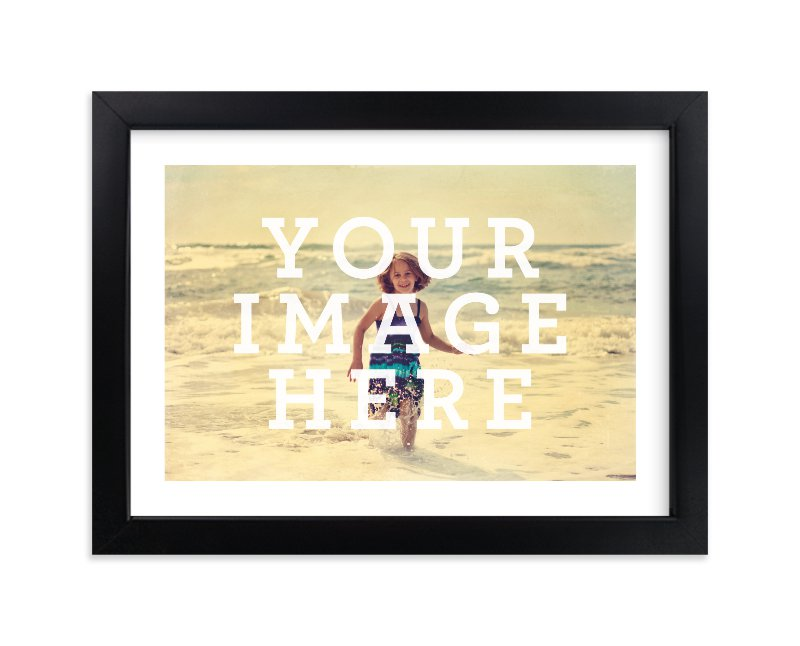 """The Big Picture"" - Custom Photo Art Print by Minted Custom in beautiful frame options and a variety of sizes."