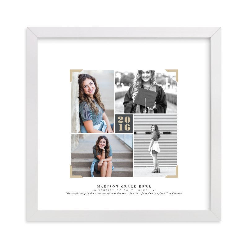"""""""Quartet"""" - Custom Photo Art Print by Hooray Creative in beautiful frame options and a variety of sizes."""