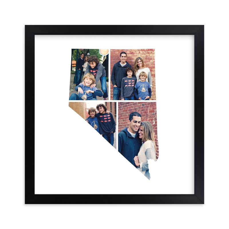 """""""Nevada Love Location"""" - Custom Photo Art Print by Heather Buchma in beautiful frame options and a variety of sizes."""