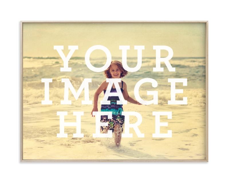 Big Picture Custom Photo Art Print