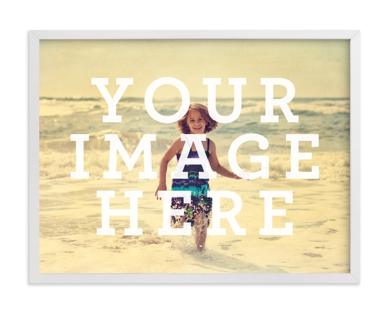 """""""Big Picture"""" - Custom Photo Art Print by Minted Custom in beautiful frame options and a variety of sizes."""
