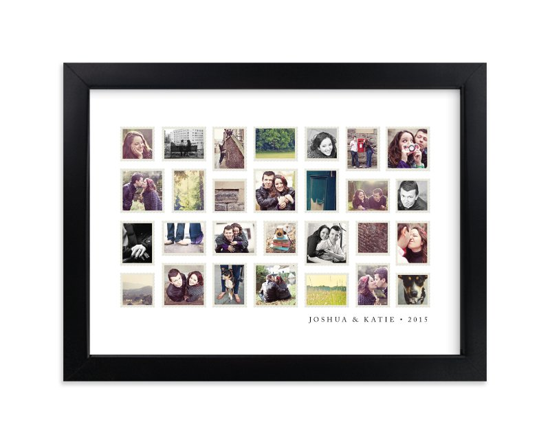 """""""Stamp Collection"""" - Custom Photo Art Print by Jill Means in beautiful frame options and a variety of sizes."""