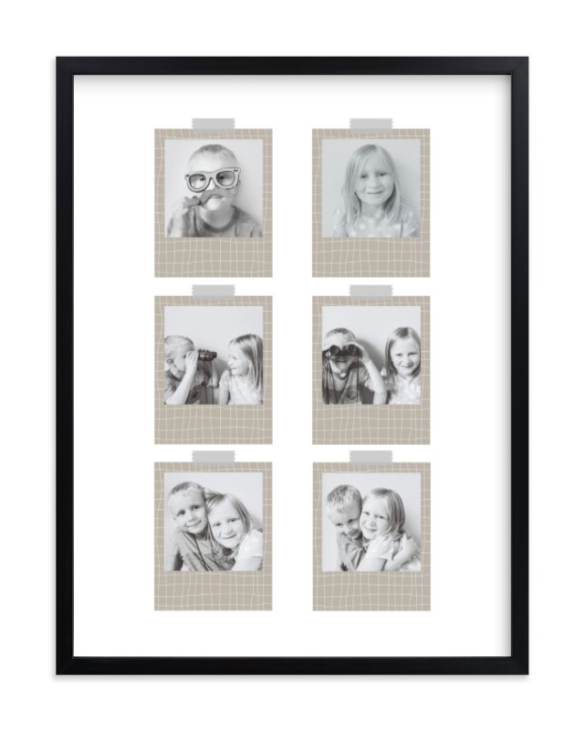 """Crazy Grid Work"" - Custom Photo Art Print by Hello Sophie Design Lab in beautiful frame options and a variety of sizes."