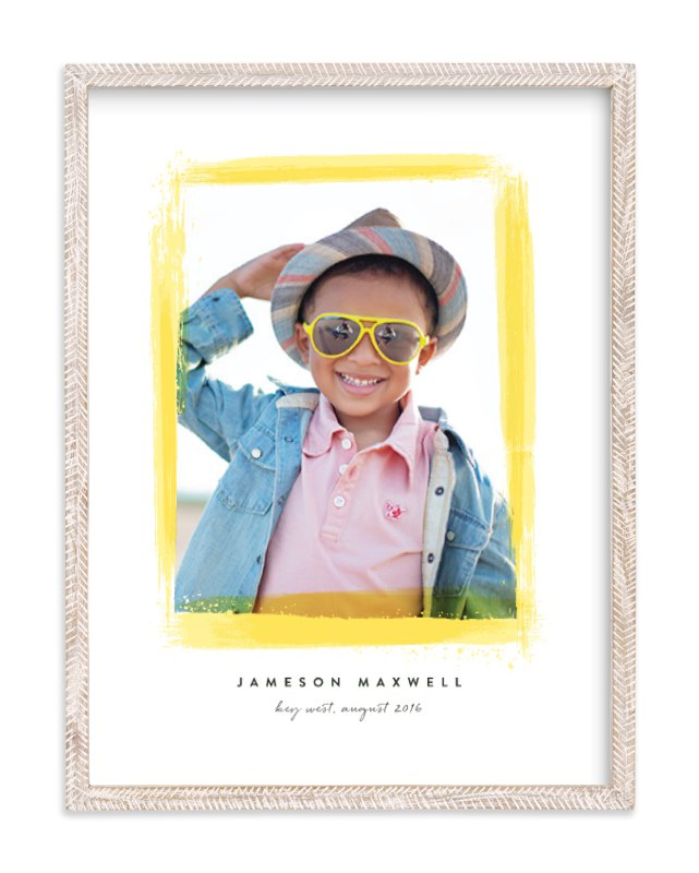"""""""Super Fun Border"""" - Custom Photo Art Print by Hooray Creative in beautiful frame options and a variety of sizes."""