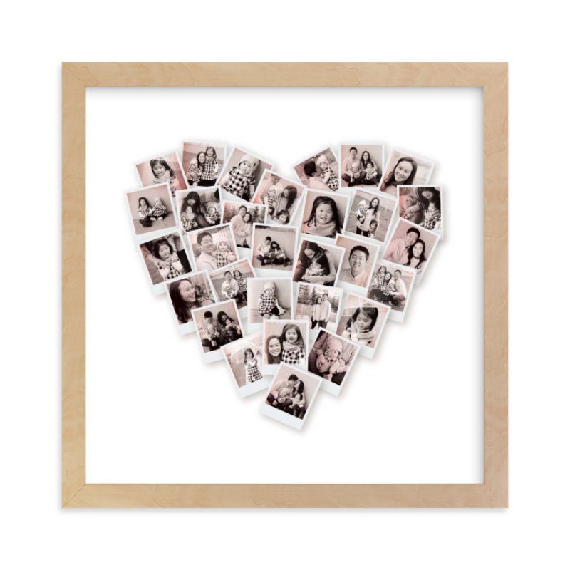"""""""Filter Heart Snapshot Mix® Photo Art"""" - Custom Photo Art Print by Minted in beautiful frame options and a variety of sizes."""