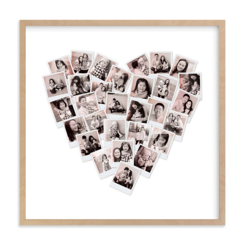 """Filter Heart Snapshot Mix® Photo Art"" - Custom Photo Art Print by Minted in beautiful frame options and a variety of sizes."