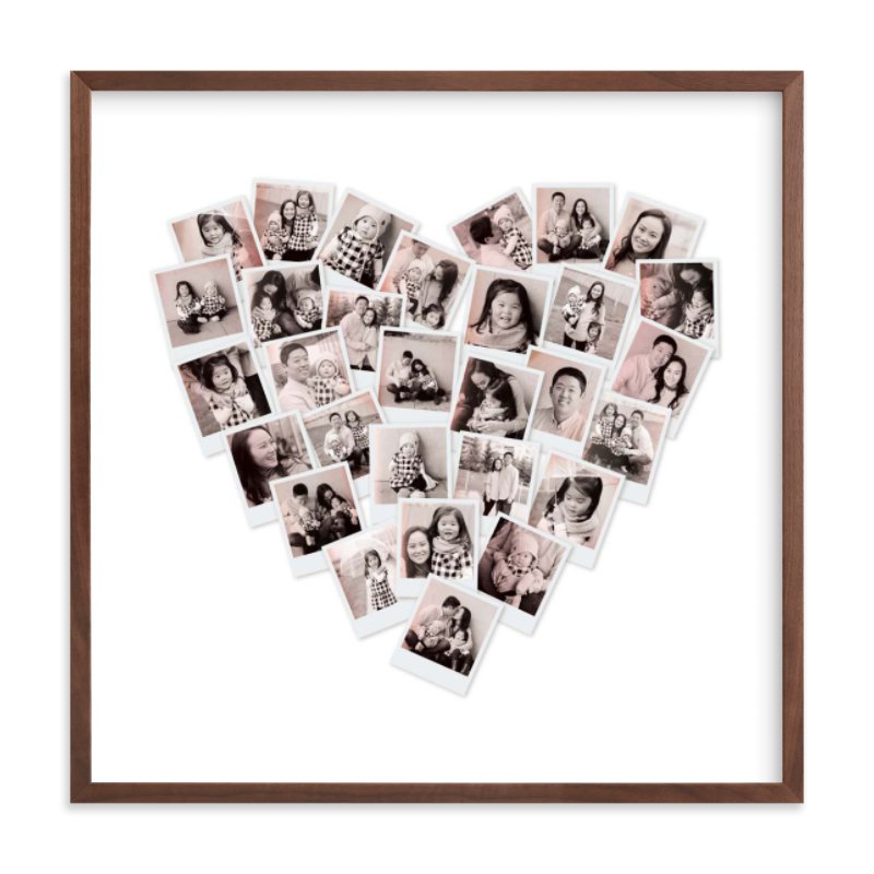 Filter Heart Snapshot Mix® Photo Art Custom Photo Art Print