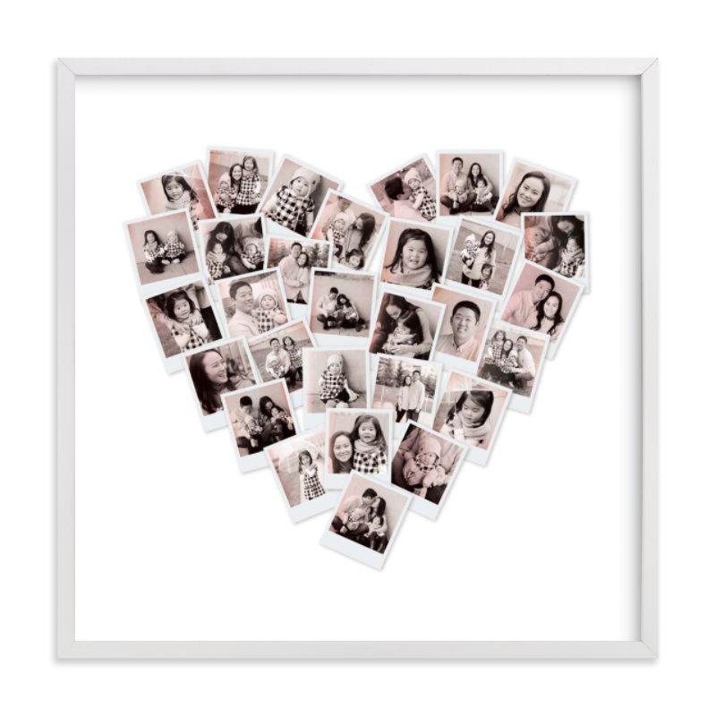 Filter Heart Snapshot Mix® Photo Art Custom Photo Art Print