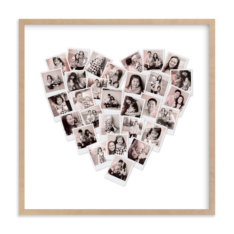 Filter Heart Snapshot Mix ® Photo Art Custom Photo Art Print