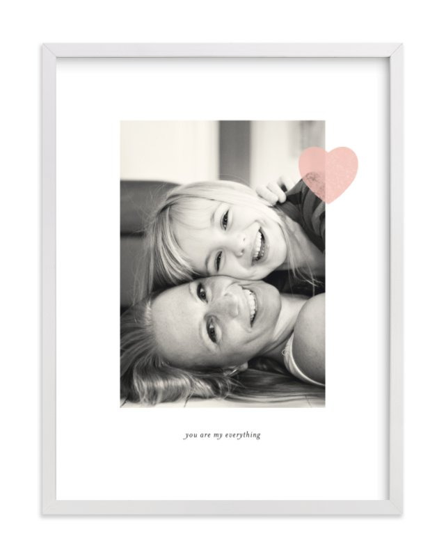 Mom Love Custom Photo Art Print