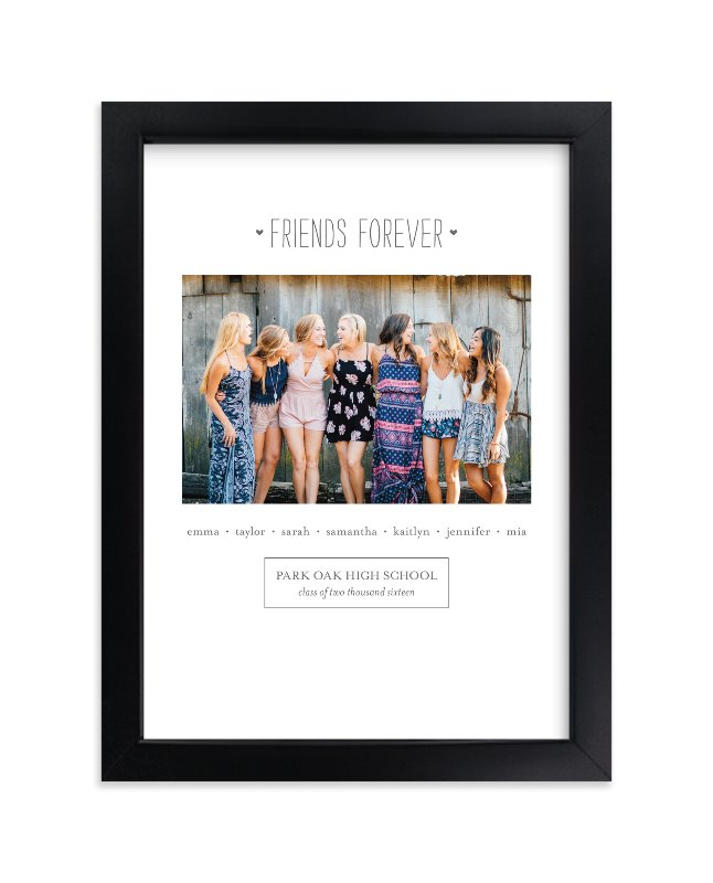 """Friends Forever"" - Custom Photo Art Print by Sara Hicks Malone in beautiful frame options and a variety of sizes."